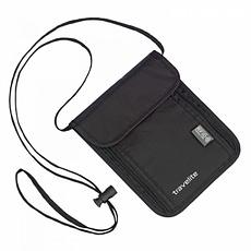 Портфейл за врат Travelite с RFID защита