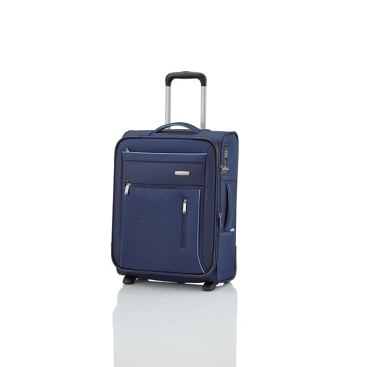 куфар за ръчен багаж с допълнително разширение Travelite Capri